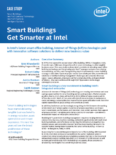 Smart Buildings Get Smarter at Intel