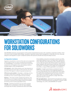 Workstation Configurations Guide for SOLIDWORKS
