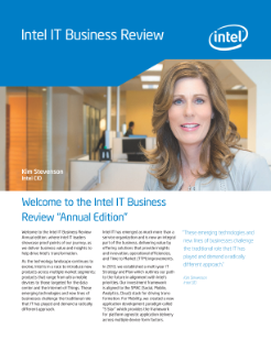 Intel IT 2013 Performance Report